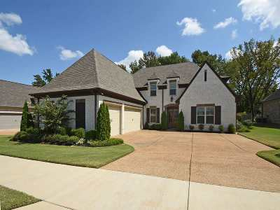 Collierville Single Family Home For Sale: 3488 Village Cross