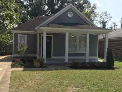Cooper, Cooper Young Single Family Home For Sale: 1687 Nelson