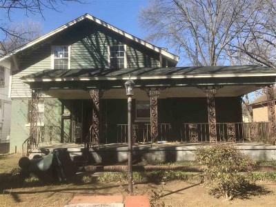 Memphis Single Family Home For Sale: 1776 Nelson