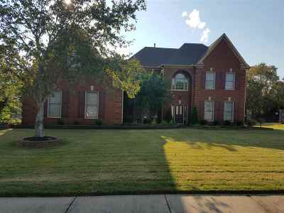 Collierville Single Family Home For Sale: 1347 Colbert