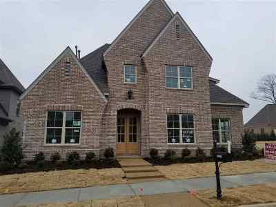 Collierville Single Family Home For Sale: 10096 Winding Cross