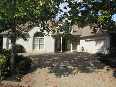 Memphis Single Family Home For Sale: 8266 Bluff View