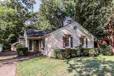 Memphis Single Family Home For Sale: 3606 Southwood