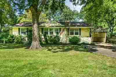 Memphis Single Family Home For Sale: 4874 Barfield