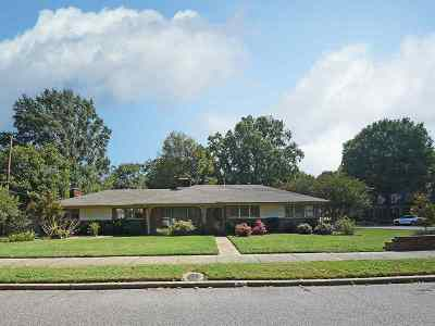 Memphis Single Family Home For Sale: 250 Wallace
