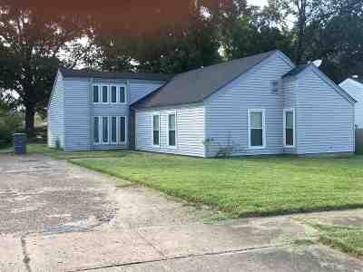 Memphis Single Family Home For Sale: 3743 Oak Lake