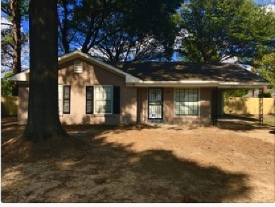 Memphis Single Family Home For Sale: 2856 Dearing