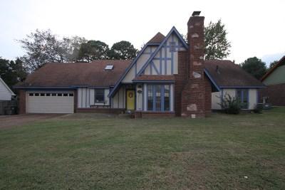 Memphis Single Family Home For Sale: 2849 Rockcreek