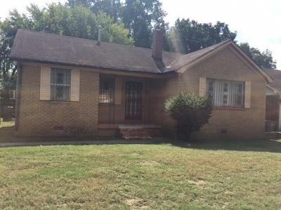 Memphis Single Family Home For Sale: 1943 N Clovia