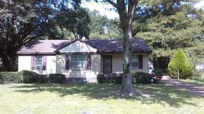 Memphis Single Family Home For Sale: 366 Jeanne