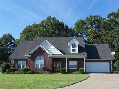 Tipton County Single Family Home For Sale: 68 Chloe