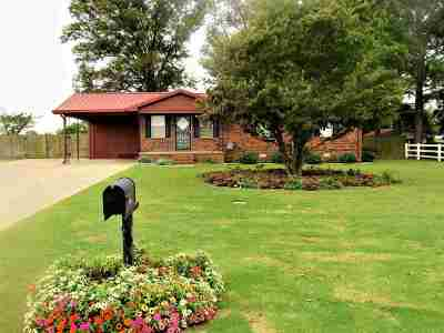 Tipton County Single Family Home For Sale: 1566 Oil Mill