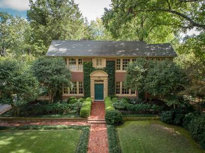 Memphis Single Family Home For Sale: 532 S Belvedere
