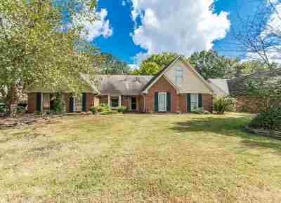 Collierville Single Family Home For Sale: 2842 Fairway Glen