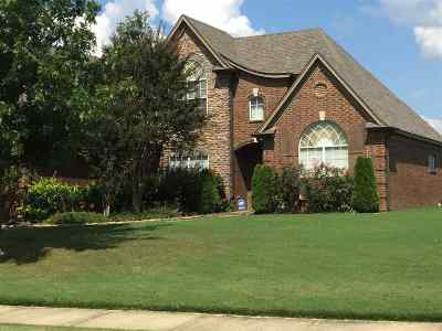 Bartlett Single Family Home For Sale: 6172 Piney Bluff