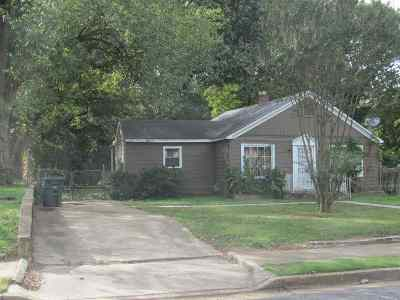 Memphis Single Family Home For Sale: 513 N Holmes