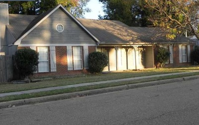Memphis Single Family Home For Sale: 4936 Barkshire