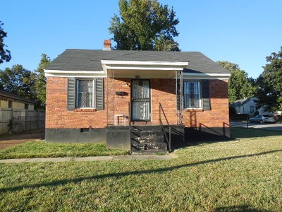 Memphis Single Family Home For Sale: 1498 Wabash