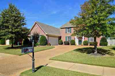 Collierville Single Family Home For Sale: 1636 Wolf Ridge