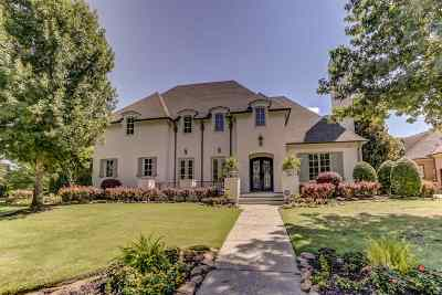 Collierville Single Family Home For Sale: 1262 Bridgepointe