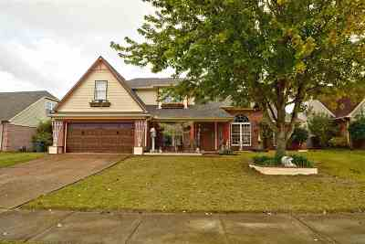 Bartlett Single Family Home For Sale: 5052 Wolfchase Farms