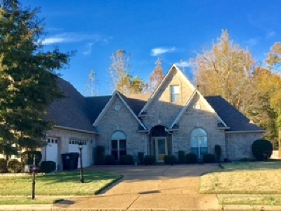 Collierville Single Family Home For Sale: 9392 Barkley Hall