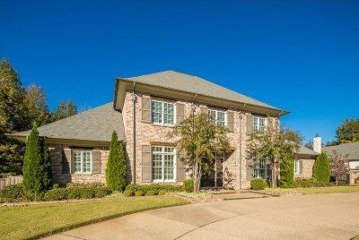 Arlington, Bartlett, Collierville, Cordova, Germantown, Lakeland, Memphis, Millington Single Family Home For Sale: 9034 S Hollybrook