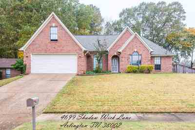 Bartlett Single Family Home For Sale: 4699 Shadow Wick
