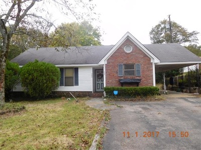 Selmer TN Single Family Home For Sale: $32,000