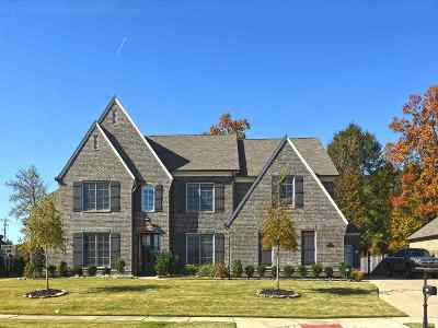 Collierville Single Family Home For Sale: 1689 Amber Grove