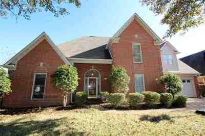 Collierville Single Family Home For Sale: 644 Planters Ridge