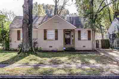 Memphis Single Family Home For Sale: 3651 Aurora