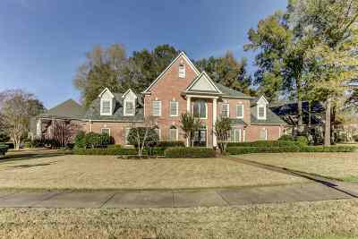Collierville Single Family Home For Sale: 3492 Wynmont Grove