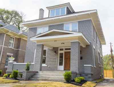 Memphis Single Family Home For Sale: 211 N McNeil