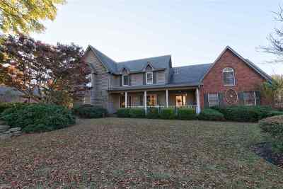 Collierville Single Family Home For Sale: 1005 Rolling Oaks