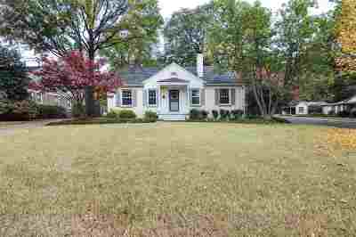 Memphis TN Single Family Home For Sale: $345,000