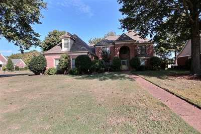 Collierville Single Family Home For Sale: 506 Chickasaw Land