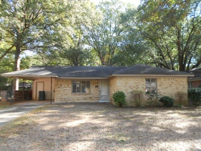 Memphis Single Family Home For Sale: 1278 Broadmoor