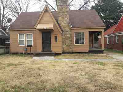 Memphis Single Family Home For Sale: 645 Eva