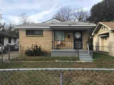 Memphis Single Family Home For Sale: 1487 Maplewood