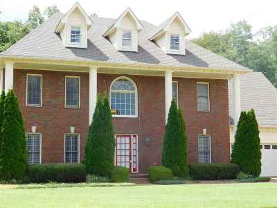 Collierville Single Family Home For Sale: 1347 Pinpointe