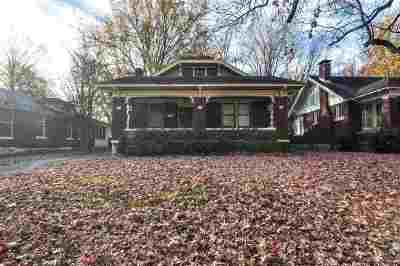 Single Family Home For Sale: 1637 Faxon