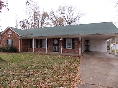 Memphis TN Single Family Home For Sale: $85,900