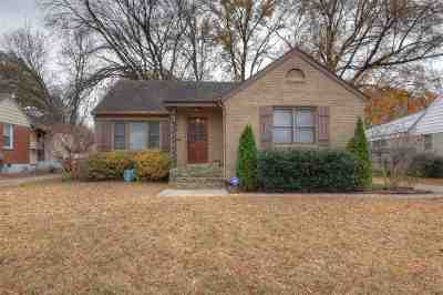 Memphis TN Single Family Home For Sale: $264,900