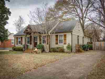 Memphis TN Single Family Home For Sale: $325,000