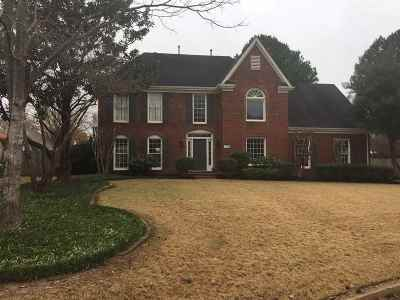 Collierville Single Family Home For Sale: 3465 Bent Creek