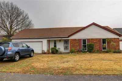 Memphis TN Single Family Home For Sale: $134,000