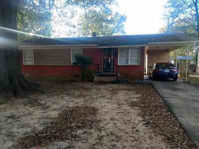 Memphis TN Single Family Home For Sale: $57,000