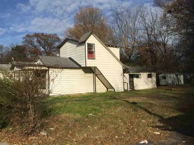 Memphis TN Single Family Home For Sale: $15,000