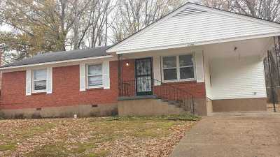 Memphis TN Single Family Home For Sale: $29,930